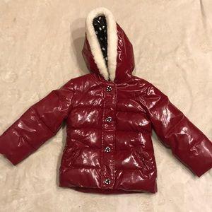Gymboree Red Puffer Winter Coat 4T/5T